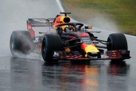 Pebalap Red Bull Ricciardo tercepat dalam latihan di GP Bahrain