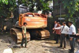 Dishut amankan alat berat di kawasan hutan