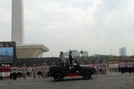 Presiden pimpin Apel Wanita TNI dan Polwan