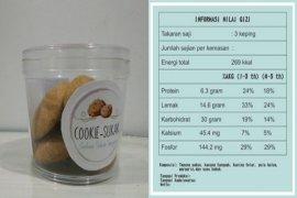 Cookie-Sukak makanan ringan dari sukun karya mahasiswa IPB