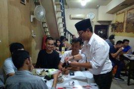 Cawako Pontianak Harry Adryanto sambangi warkop Asiang