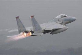 Pesawat tempur AS jatuh di lepas pantai Timur Laut Inggris