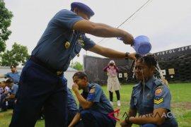 Sembilan prajurit Lanal Lhokseumawe naik pangkat