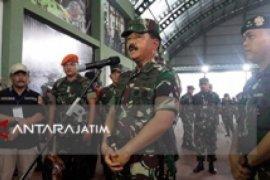 Panglima TNI Pimpin Sertijab KSAL