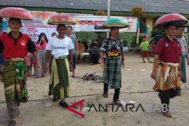 KPU Bangka sosialisasikan pilkada dengan permainan tradisional