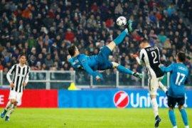 Komentar pesepak bola soal gol salto Ronaldo ke gawang Juve