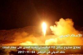 Gerilyawan Syiah Yaman Al-Houthi tembakkan rudal ke kamp radar Arab Saudi