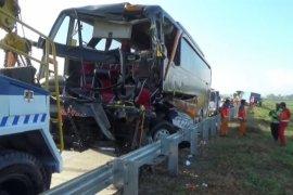 104 kecelakaan terjadi di Tol Ngawi-Kertosono, ini penyebab utamanya