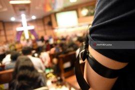 Polisi Korban Ledakan di Surabaya Dikabarkan Membaik