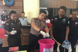 Polres Banjarbaru musnahkan 287.890 butir narkotika