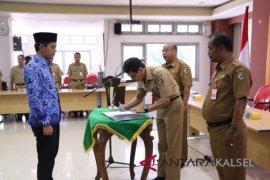 Sekda Tala lantik pejabat fungsional Widyaiswara