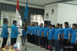 DPD KNPI HST 2018-2021 dipimpin Taufik Rahman