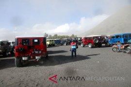 Prihatin, Hutan dan padang savana Gunung Bromo terbakar