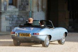 Jaguar Classic E-Type, mobil listrik Pangeran Harry pada Royal Wedding
