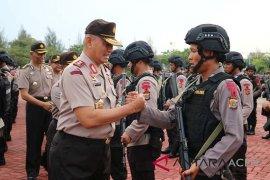 Polda Aceh kirim 100 Brimob ke Papua