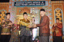 Kabupaten Tanggamus Juara Umum MTQ Ke-46 Provinsi Lampung
