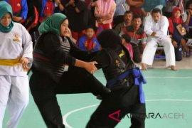 Aceh Besar boyong emas pencak silat Popda