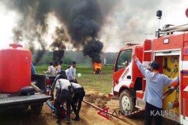 Video - Apel gabungan dan simulasi penanganan bencana di Balangan
