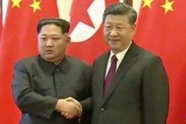 Xi Jinping dan Kim Jong Un bertemu di Tiongkok