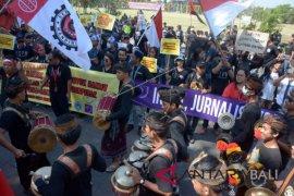 Aksi Buruh Bali