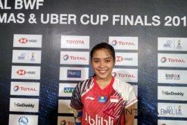 Tim putri Indonesia runner up grup Piala Uber