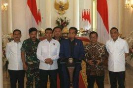 Presiden tegaskan negara tidak gentar hadapi terorisme