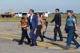 Presiden Tiba di Surabaya