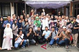 Wartawan kompak hadiri open house Lebaran Kapolda