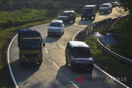 Polres Garut siap tilang truk angkutan barang