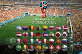 Pembeli tiket Piala Dunia Rusia 57 persen perempuan