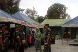 Kodim Banjarmasin gelar bazaar Ramadhan di Koramil Selatan