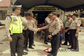 Kapolres HSU cek BKO di Pilkada Tabalong