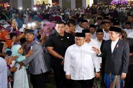 Presiden Shalat Id di Kebun Raya Bogor