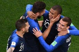 Giroud akhiri puasa gol saat Prancis menang atas Belanda