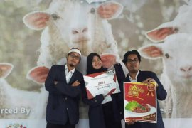 Rendang bakso kelinci bawa mahasiswa IPB sabet juara 2 Business Model Canvas SWAP 2018