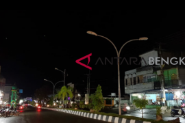 Anggaran pemasangan lampu jalan Rejang Lebong minim
