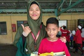 Mahasiswa IPB ajari pendidikan karakter anak TKI di Malaysia