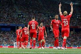 Swiss hadapi Swedia di 16 besar
