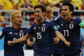 Jepang hajar Kolombia 2-1
