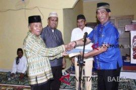 Baznas Belitung Timur salurkan zakat Rp225 juta kepada 454 mustahiq