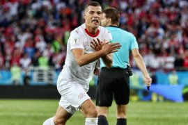 Menteri Swiss dukung Xhaka dan Shaqiri terkait selebrasi gol