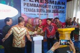 PLTS Jakabaring Palembang terbesar di Sumatera
