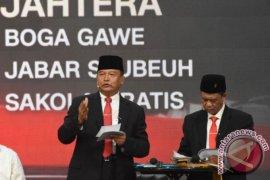 Hasanuddin ucapkan selamat kepada Ridwan Kamil