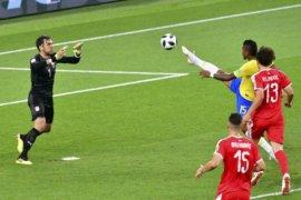 Brazil bertemu Meksiko, Swiss kontra Swedia