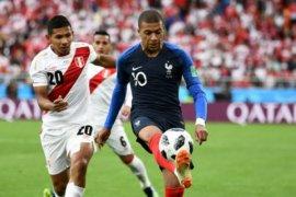 Prancis lolos 16 besar setelah kalahkan Peru