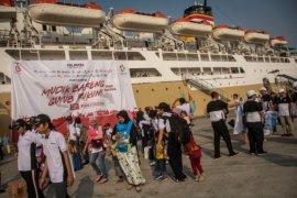 Ribuan pemudik diberangkatkan gratis dengan kapal laut