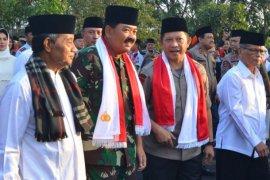 Panglima TNI dan Kapolri silaturahim ke Ponpes Buntet Cirebon