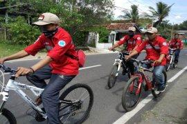 PMI Sukabumi siagakan sukarelawan patroli bersepeda