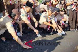 Gerakan Pramuka Buleleng kembali lepaskan 72 ekor tukik