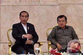 Presiden Jokowi puji soliditas TNI-Polri